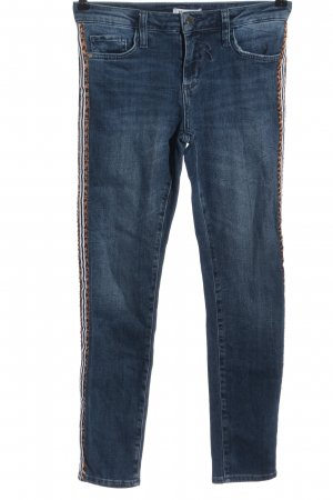 Rich & Royal Röhrenjeans Leomuster Casual-Look
