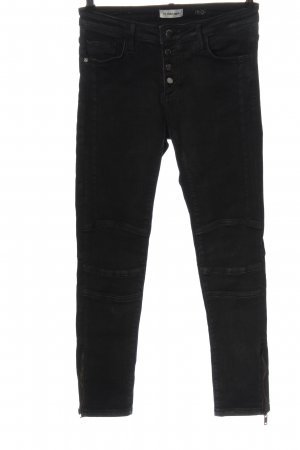 Rich & Royal Tube Jeans light grey casual look