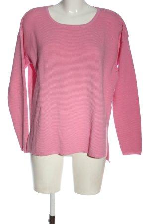 Rich & Royal Maglione girocollo rosa stile casual