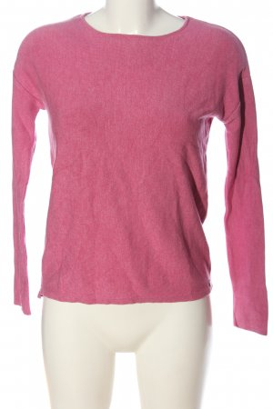 Rich & Royal Rundhalspullover pink Casual-Look