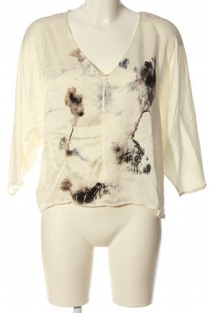 Rich & Royal Schlupf-Bluse abstraktes Muster Casual-Look