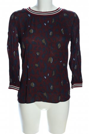Rich & Royal Schlupf-Bluse Leomuster Casual-Look