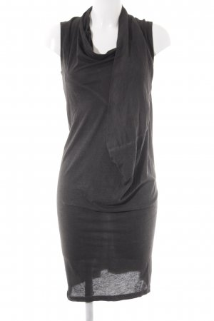 Rich & Royal schulterfreies Kleid anthrazit Casual-Look