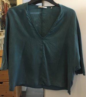rich&royal Seiden-Shirt, grün, Größe 36