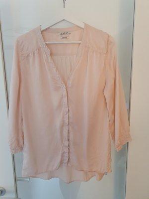 Rich & Royal Seidenbluse Gr. 38 - Bluse 100% Seide - rosa