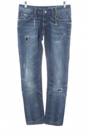 Rich & Royal Skinny Jeans blau Casual-Look