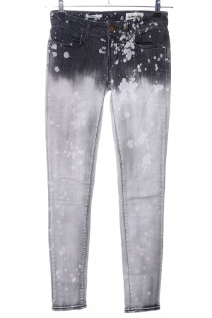 Rich & Royal Skinny Jeans hellgrau Farbverlauf Street-Fashion-Look