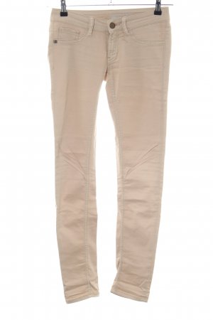 Rich & Royal Skinny Jeans wollweiß Casual-Look
