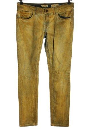 Rich & Royal Skinny Jeans blassgelb Casual-Look