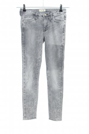 Rich & Royal Skinny Jeans hellgrau Street-Fashion-Look