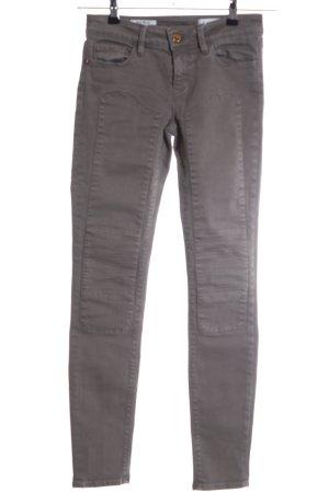 Rich & Royal Skinny Jeans hellgrau Streifenmuster Casual-Look