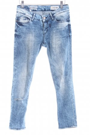 Rich & Royal Skinny Jeans stahlblau Casual-Look