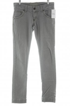 Rich & Royal Slim Jeans hellgrau Casual-Look