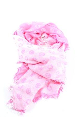 Rich & Royal Écharpe d'été rose imprimé allover élégant