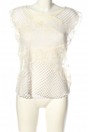 Rich & Royal Lace Blouse natural white casual look