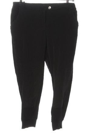 Rich & Royal Jersey Pants black casual look