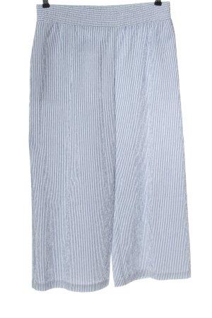 Rich & Royal Stoffhose weiß-blau Streifenmuster Casual-Look