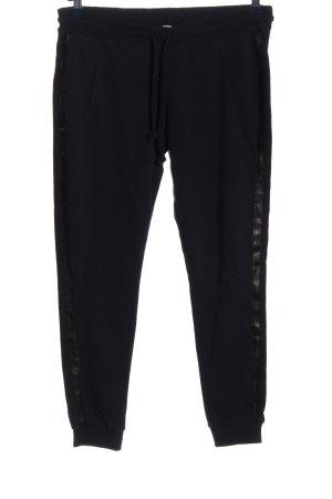 Rich & Royal Stoffhose schwarz sportlicher Stil