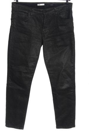 Rich & Royal Jeans a gamba dritta nero stile casual