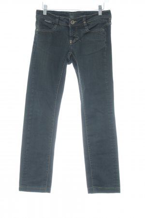 Rich & Royal Straight-Leg Jeans anthrazit meliert Casual-Look