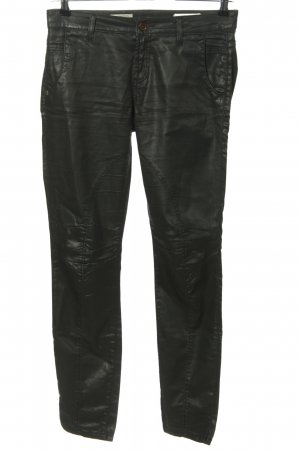 Rich & Royal Stretchhose schwarz Casual-Look