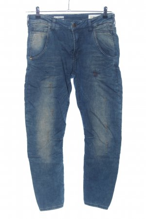 Rich & Royal Stretch Trousers blue casual look
