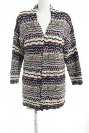 Rich & Royal Strick Cardigan grafisches Muster Casual-Look