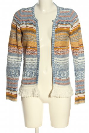Rich & Royal Strick Cardigan Allover-Druck Casual-Look