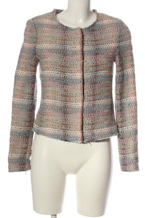 Rich & Royal Gebreide blazer volledige print zakelijke stijl