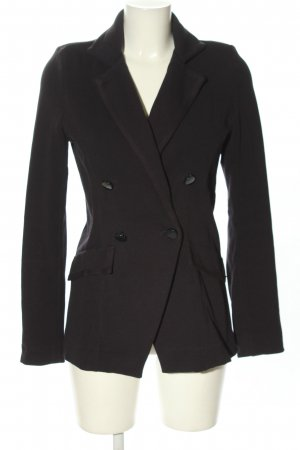 Rich & Royal Strickblazer schwarz Casual-Look