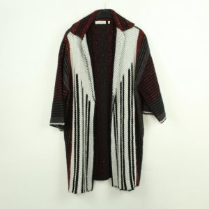 Rich & Royal Knitted Coat multicolored