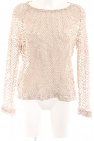 Rich & Royal Strickpullover nude Casual-Look