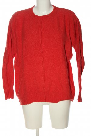 Rich & Royal Strickpullover rot Casual-Look