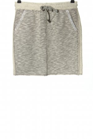Rich & Royal Knitted Skirt light grey-natural white flecked casual look