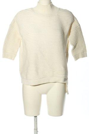 Rich & Royal Strickshirt wollweiß Casual-Look