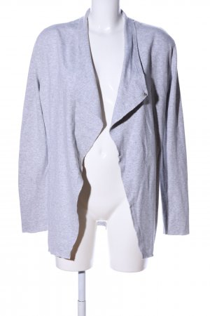 Rich & Royal Sweatblazer hellgrau meliert Casual-Look