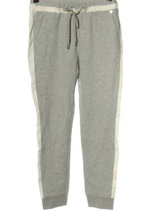 Rich & Royal Spodnie dresowe jasnoszary-kremowy Melanżowy W stylu casual