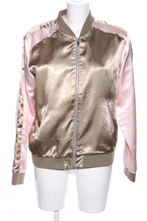 Rich & Royal Sweatjacke goldfarben-pink Casual-Look