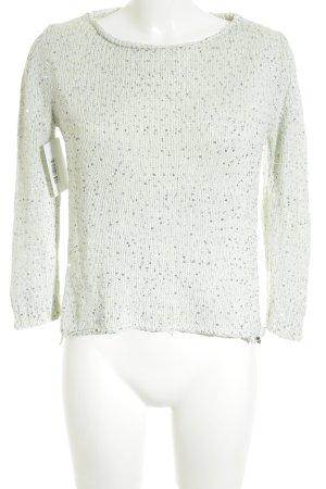 Rich & Royal Sweatshirt graugrün Glitzer-Optik