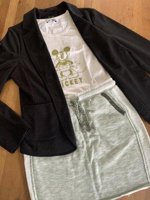 Rich & Royal Minigonna verde-grigio-beige chiaro