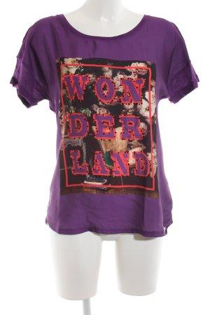 Rich & Royal T-Shirt Motivdruck Casual-Look