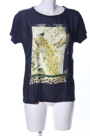 Rich & Royal T-Shirt Animalmuster Casual-Look