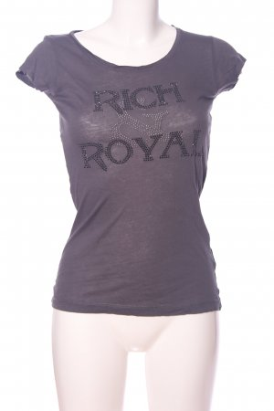 Rich & Royal T-Shirt lila Casual-Look