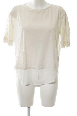 Rich & Royal T-Shirt wollweiß Casual-Look