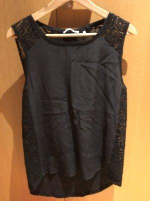 Rich & Royal Short Sleeved Blouse black