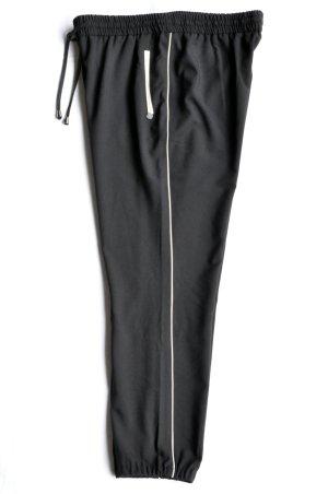Rich & Royal Trackpants Hose mit Seitenstreifen Galonstreifen Jogpants 53q904 schwarz Gr. 42 WIE NEU