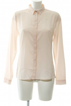 Rich & Royal Transparenz-Bluse apricot Business-Look