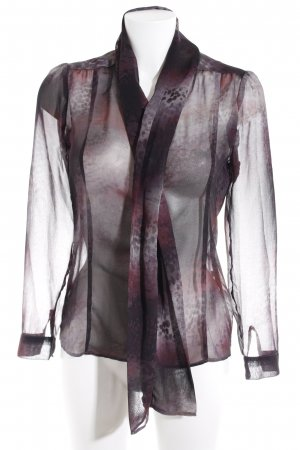 Rich & Royal Transparenz-Bluse Farbverlauf Business-Look