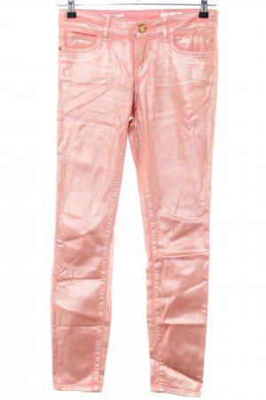 Rich & Royal Five-Pocket-Hose pink extravaganter Stil