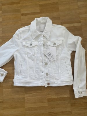 Rich & Royal Denim Jacket white